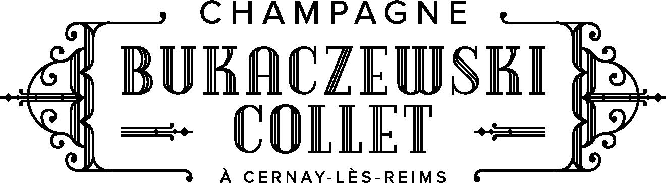 Logo Noir Champagne BUKACZEWSKI-COLLET